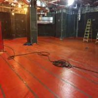 Terrazzo floor covering