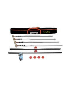 zipwall 4 pack kit contents
