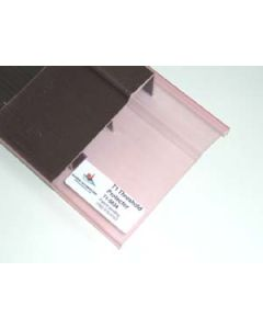 Plastic entry threshold protection