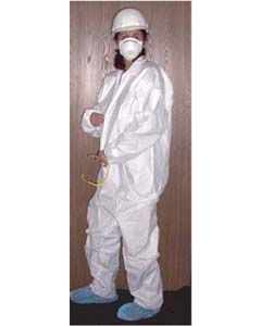 Disposable coveralls breathable