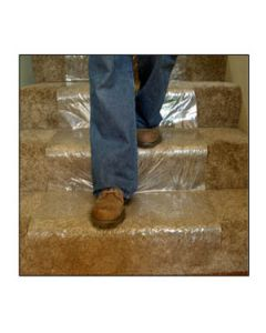 temporary carpet stair protection