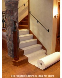 Surface Liner vapor wood stair protection