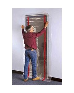 Zip Door temporary door protection